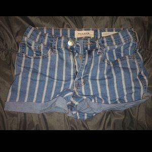 • PacSun short denim shorts